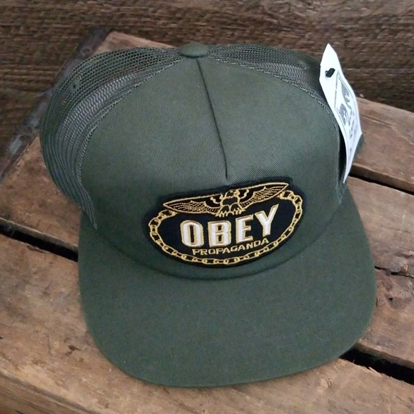 26c82e87cfb OBEY Chains trucker hat
